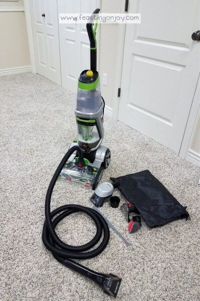 Healthy DIY Carpet Cleaning { With a Machine} 2 | Feasting On Joy