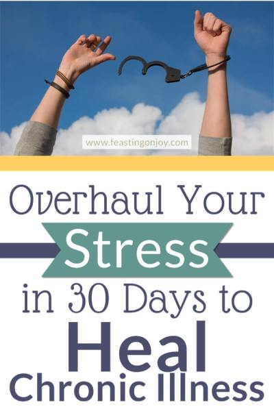 365 Days of Change: Overhaul Your Stress in 30 Days to Heal Chronic Illness | Feasting On Joy