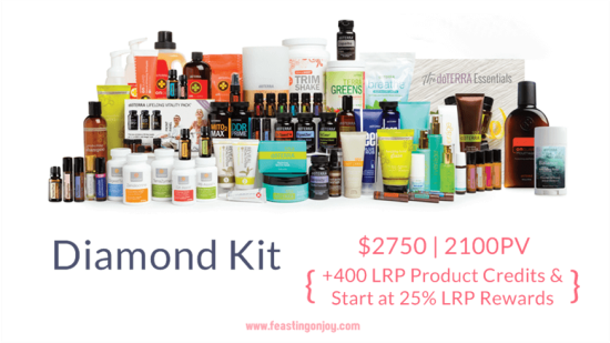 Buy doTERRA Essential Oils Diamond Kit | FeastingOnJoy Oils