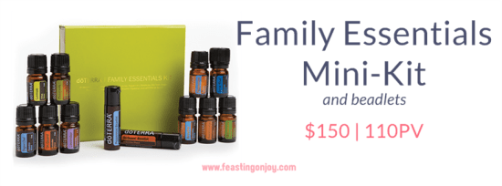 Buy doTERRA Essential Oils Family Essentials Mini-Kit | FeastingOnJoy Oils