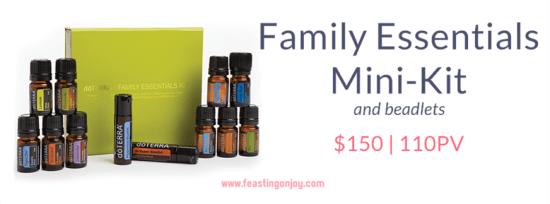 Buy doTERRA Essential Oils Family Essentials Mini-Kit | FeastingOnJoy Oils