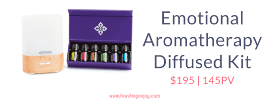 Buy doTERRA Essential Oils Emotional Aromatherapy Diffused Kit | FeastingOnJoy Oils