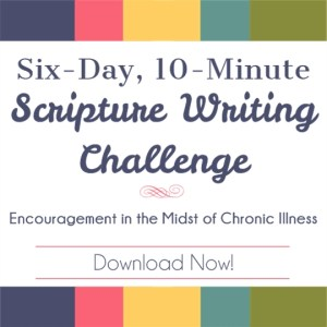6-Day, 10-Minute Scripture Writing Challenge | Feasting On Joy