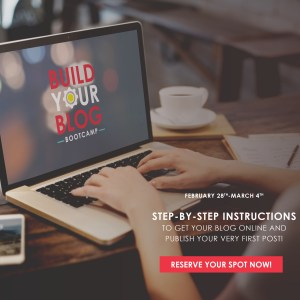 Build Your Blog Bootcamp