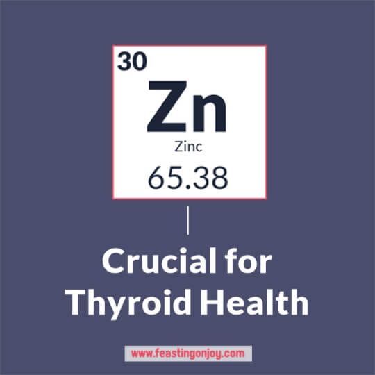 Zinc is Crucial for Thyroid Health | Feasting On Joy