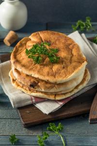 Organic White PIta Bread with Parsley