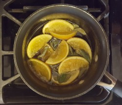 Citrus-Sage Syrup | Feast In Thyme