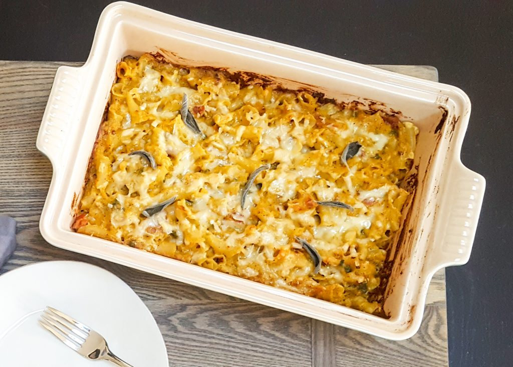 Roasted Pumpkin Baked Pasta   Feast In Thyme