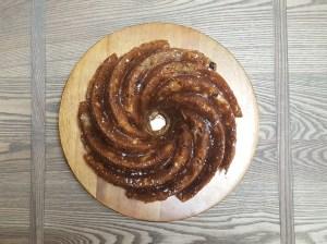Apple Cider Bundt Cake with Sweet Brandy Glaze | Feast In Thyme