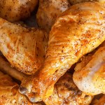 Giant Baked Hot Wings with Homemade Blue Cheese Dressing   Feast In Thyme