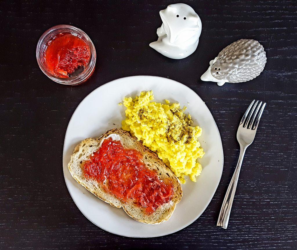 Strawberry Meyer Lemon & Rum Marmalade | Feast In Thyme