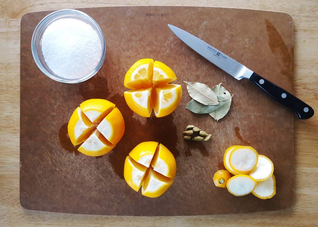 Salt Preserved Meyer Lemons | Feast In Thyme
