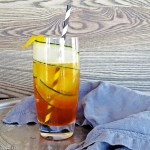 Pimm's Cup with Lemon Simple Syrup & Muddled Cucumber   Feast In Thyme
