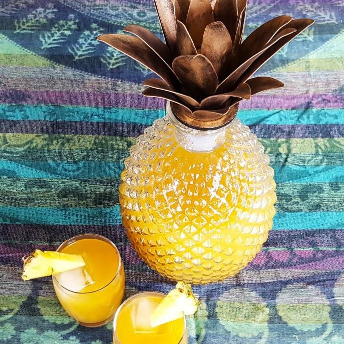 Rendezvous Rum Punch | Caribbean Fete | FeastInThyme.com