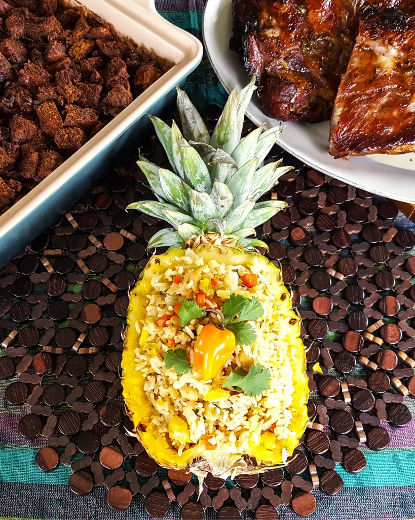 Coconut & Pineapple Fried Rice | Caribbean Fete