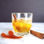 With a rich cinnamon syrup & the scent of blood orange, this Cinnamon Spiced Old Fashioned Cocktail will keep you (and your company) cozy on even the chilliest days.   FeastInThyme.com