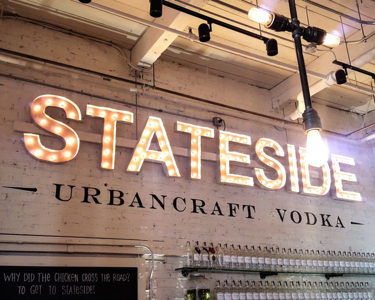 It's a boozy celebration! A visit to the Stateside Urbancraft Vodka Distillery and a review of locally made vodka, whiskey, & gin for Philly Craft Spirits Week in today's special edition of Thymeline. | FeastInThyme.com