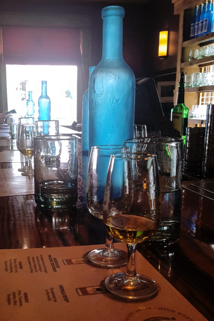 A tasting at High West Distillery in Park City, Utah | FeastInThyme.com