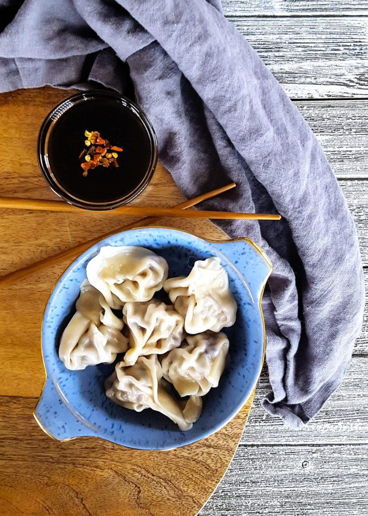 Simple Pork & Mushroom Dumplings