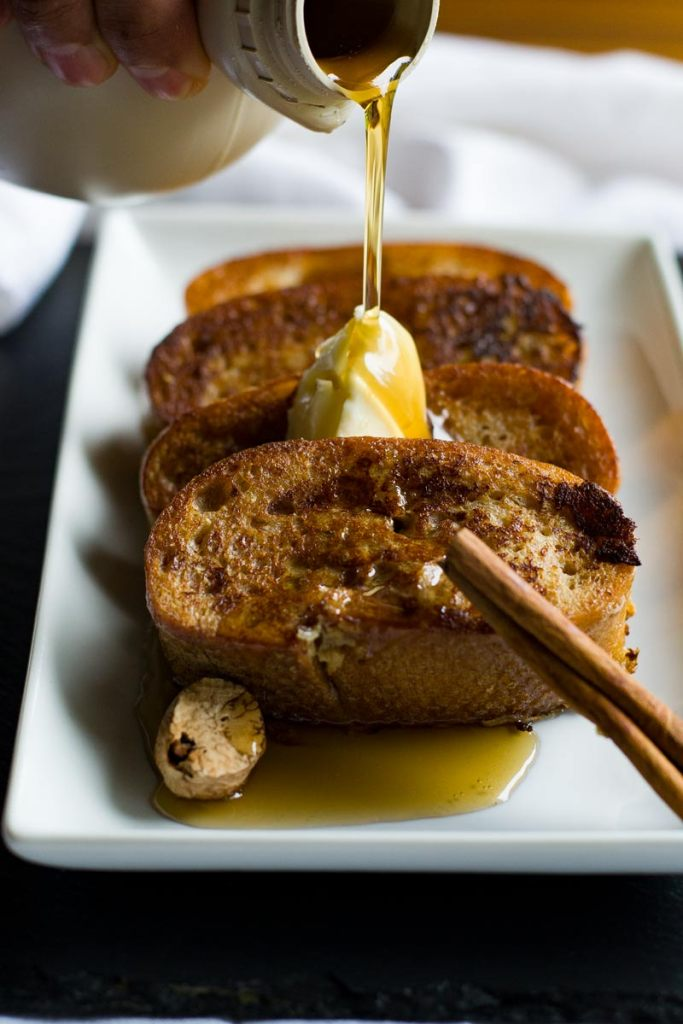 New Orleans French Toast (Pain Perdu) from Wanderspice