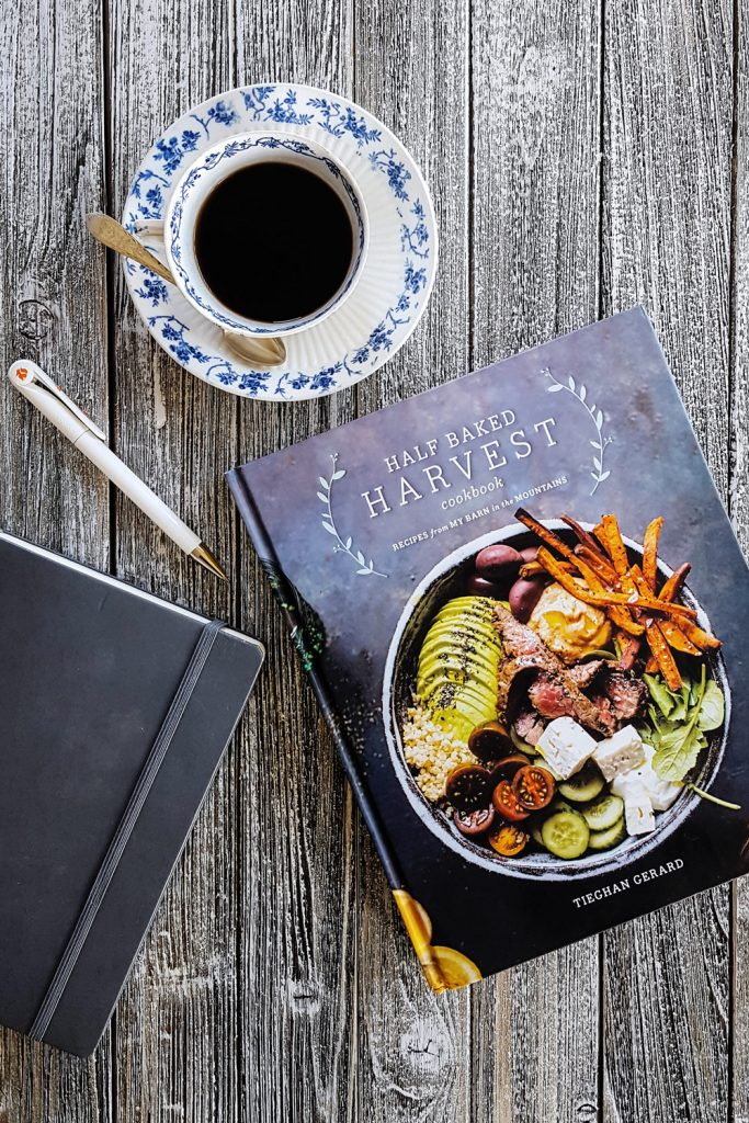 Full of bright, beautiful photography, Tieghan Gerard's first #cookbook - Half Baked Harvest – will inspire you to cook creatively everyday. #halfbakedharvest #HBHcookbook #cookbookreview #review | FeastInThyme.com