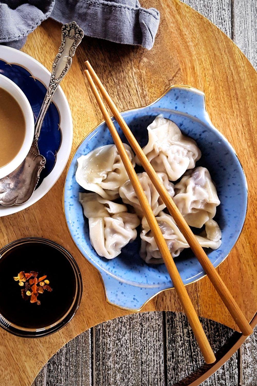 Better Than Take-Out: Simple Pork & Mushroom Dumplings