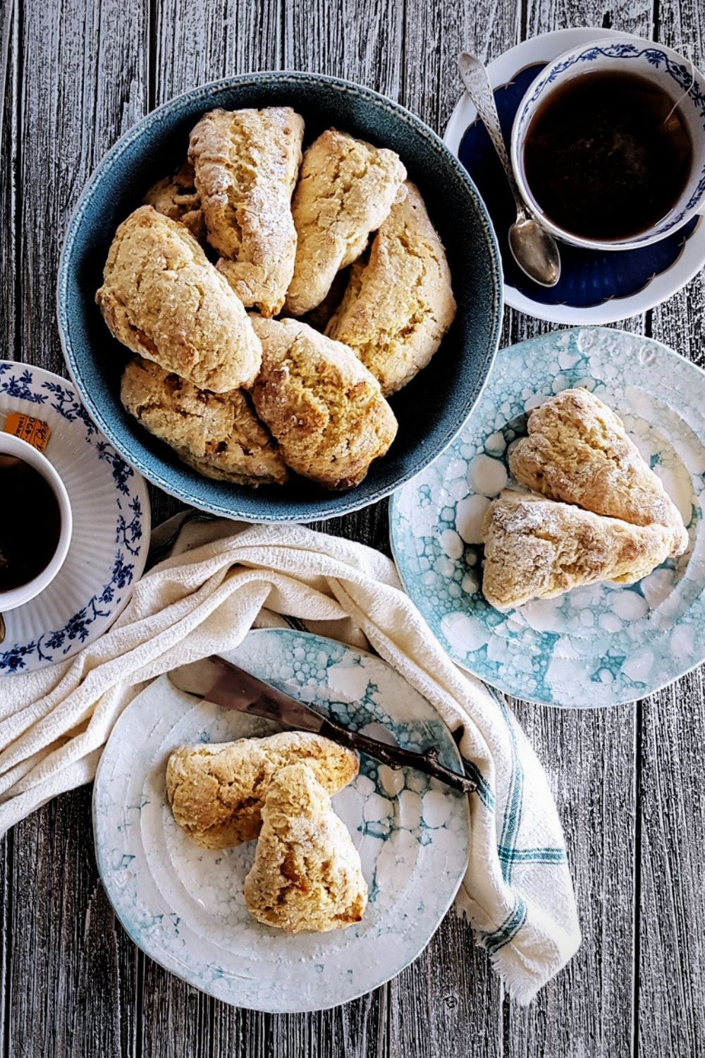 Delicious Mini Orange Scones with Whiskey & Marmalade