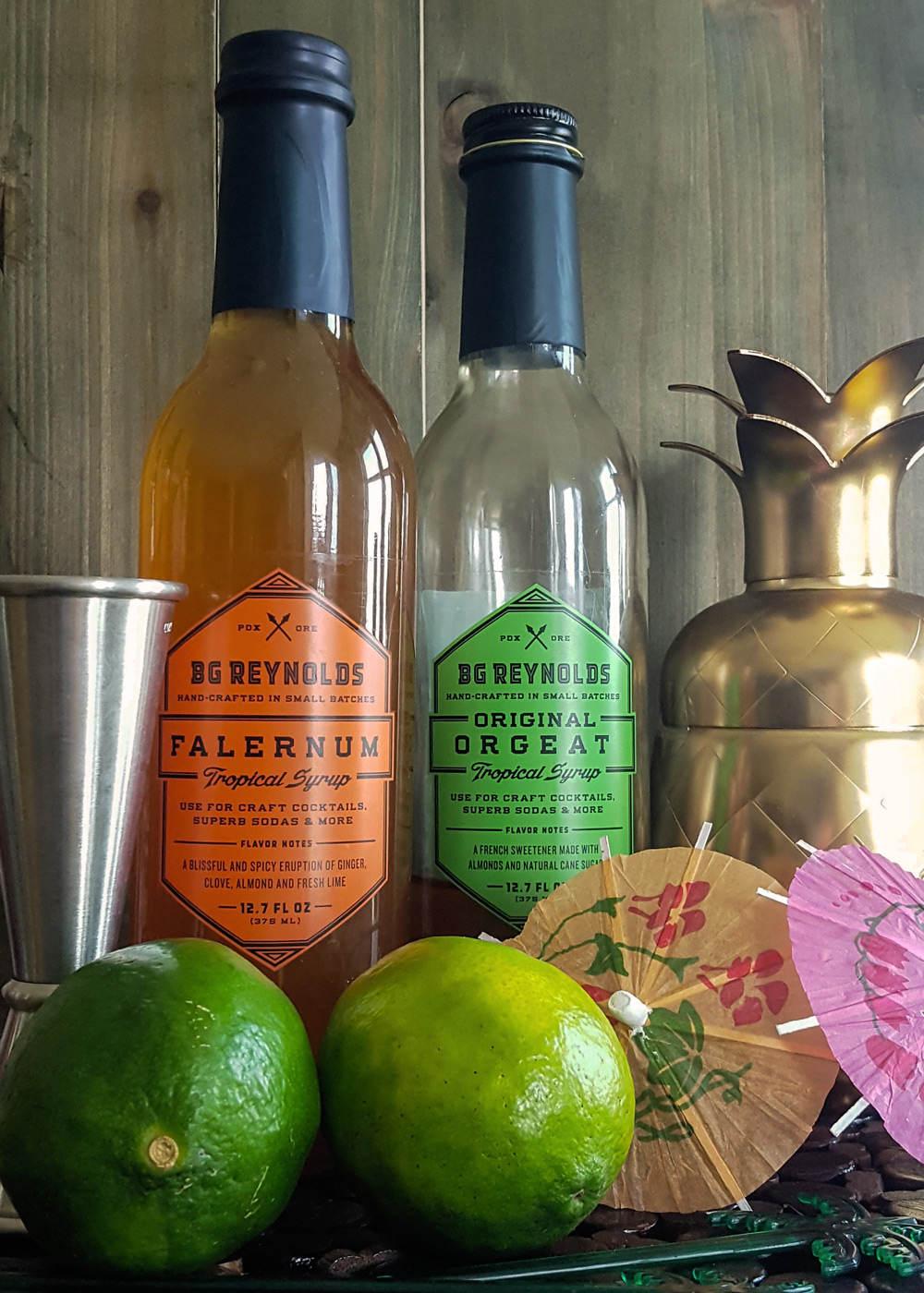 Falernum & Orgeat Syrups for your Home Tiki Bar | FeastInThyme.com