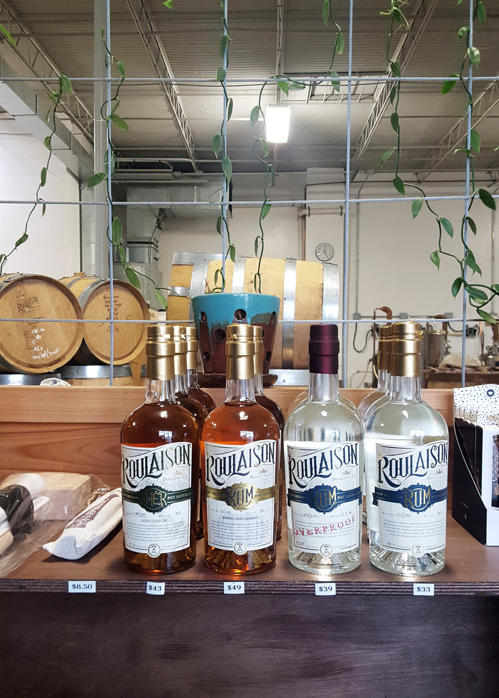 With a two-man team using local Louisiana molasses, Roulaison Distilling Co. is creating big flavor in small batches of craft rum.  | FeastInThyme.com