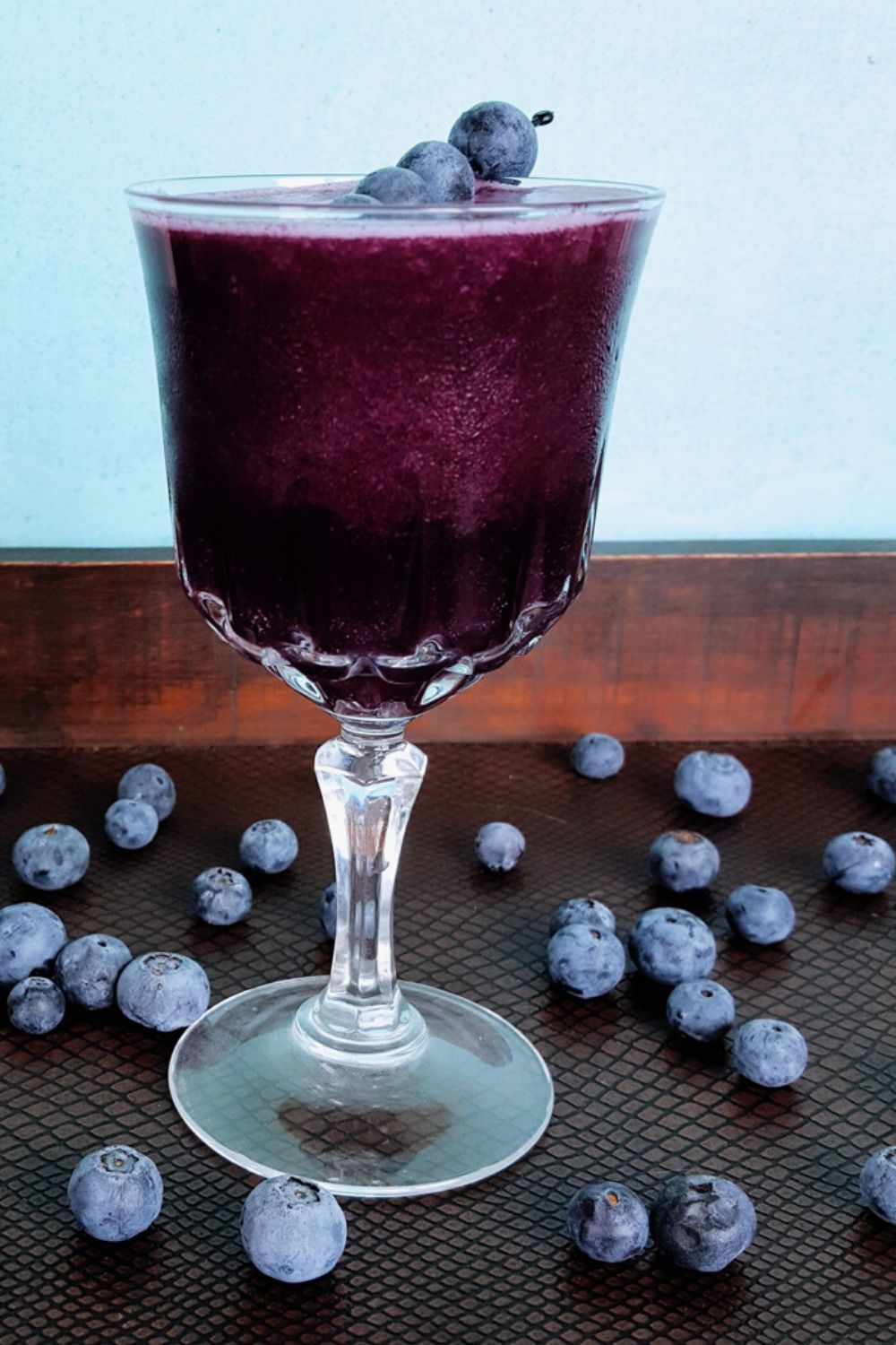 The Roxy | A Spiced Blueberry Jam Cocktail
