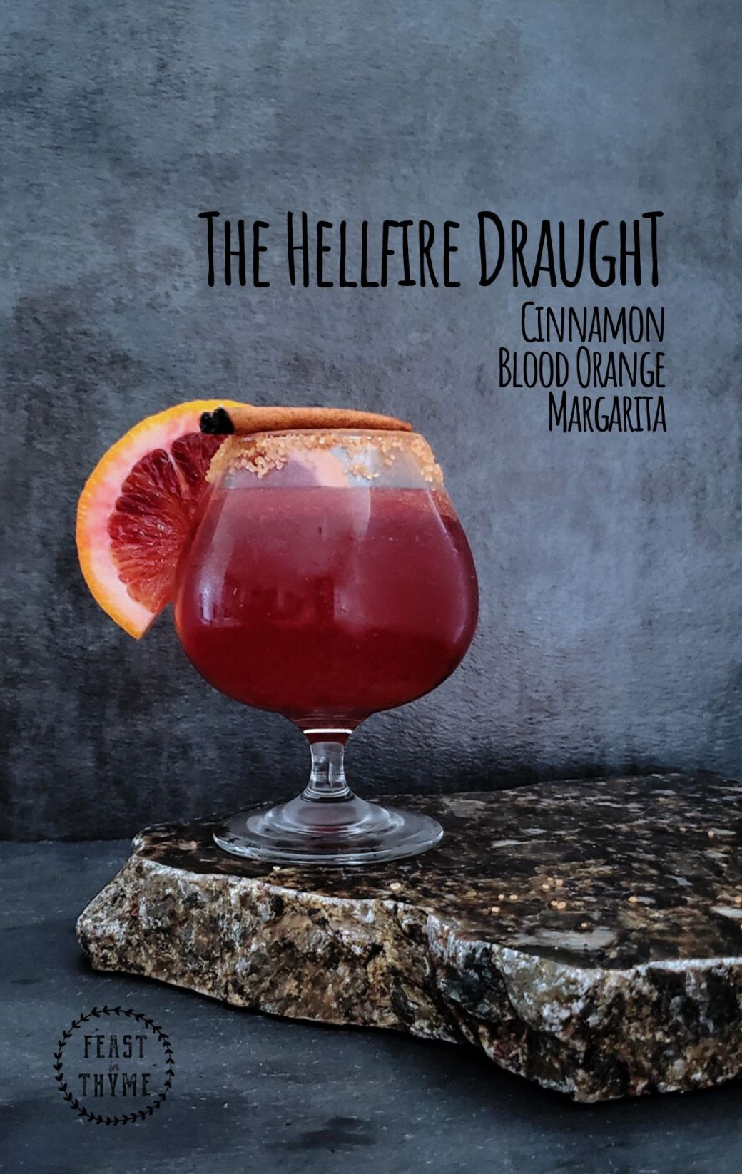 The Hellfire Draught Margarita | A World's Wake Cocktail
