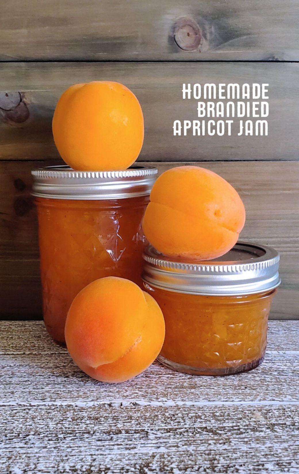 Brandied Apricot Jam