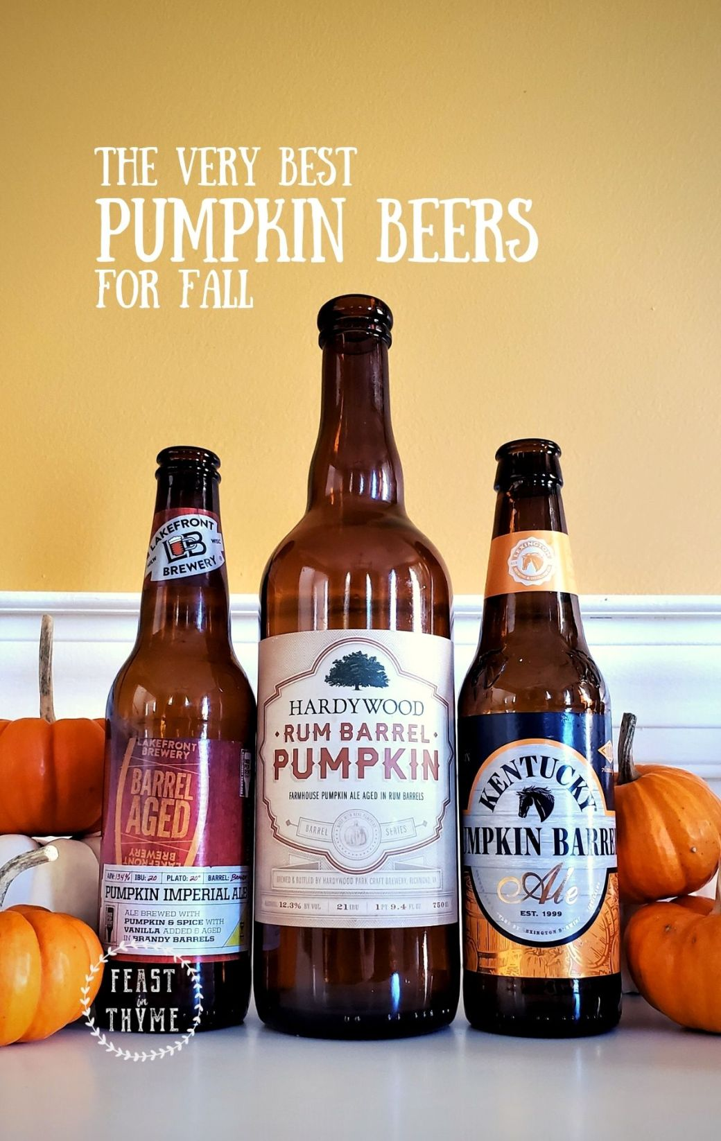 The Best Fall Pumpkin Beers (And a Few Ciders Too)