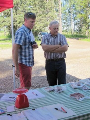 Andrew Hewson & Gerald Ingeveld, beef producer