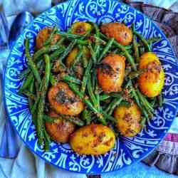 Green Beans with Potatoes.