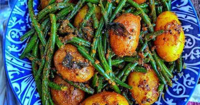 Masala Potatoes & Green Beans