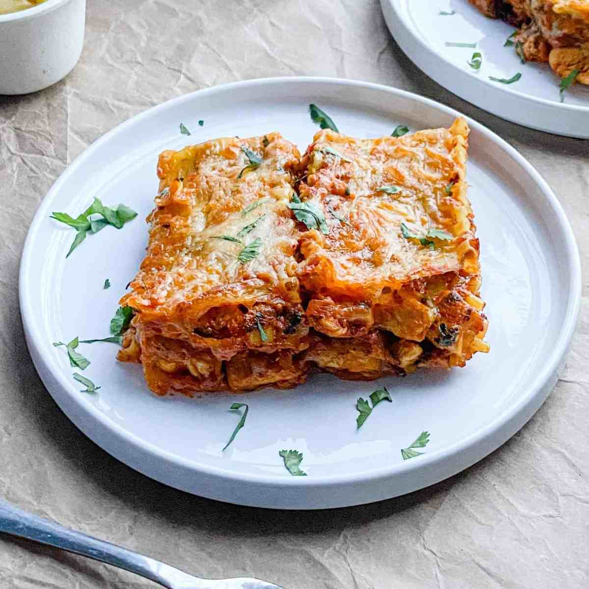 The best Butter Chicken Lasagna