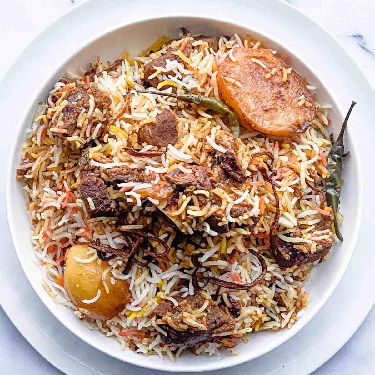 The best Mutton Biryani recipe