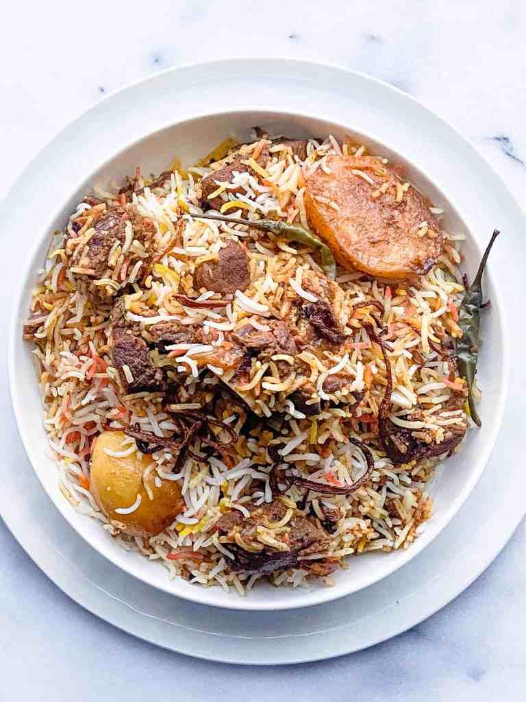Mutton Biryani Recipe.