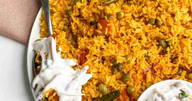 One-Pot Vegetable Spicy Rice