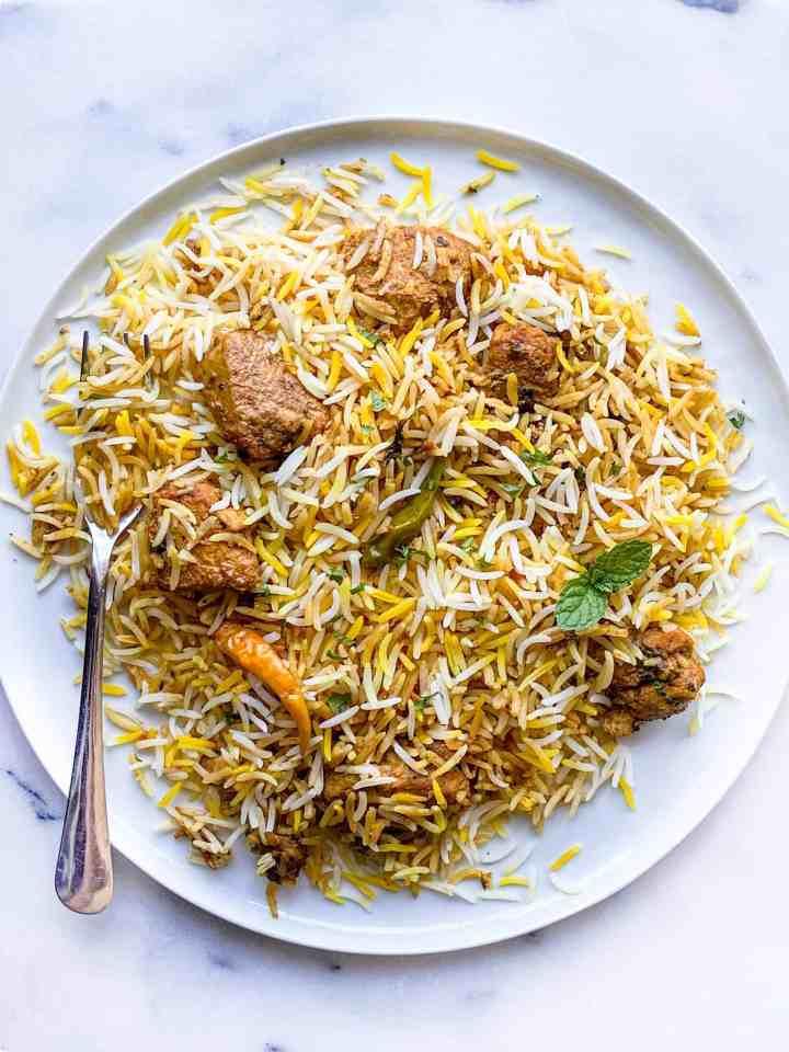 easy chicken biryani recipe.