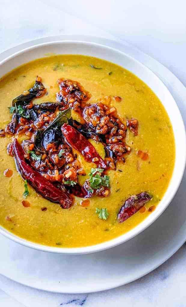 Dal tadka. Indian restaurant style dal tadka recipe.