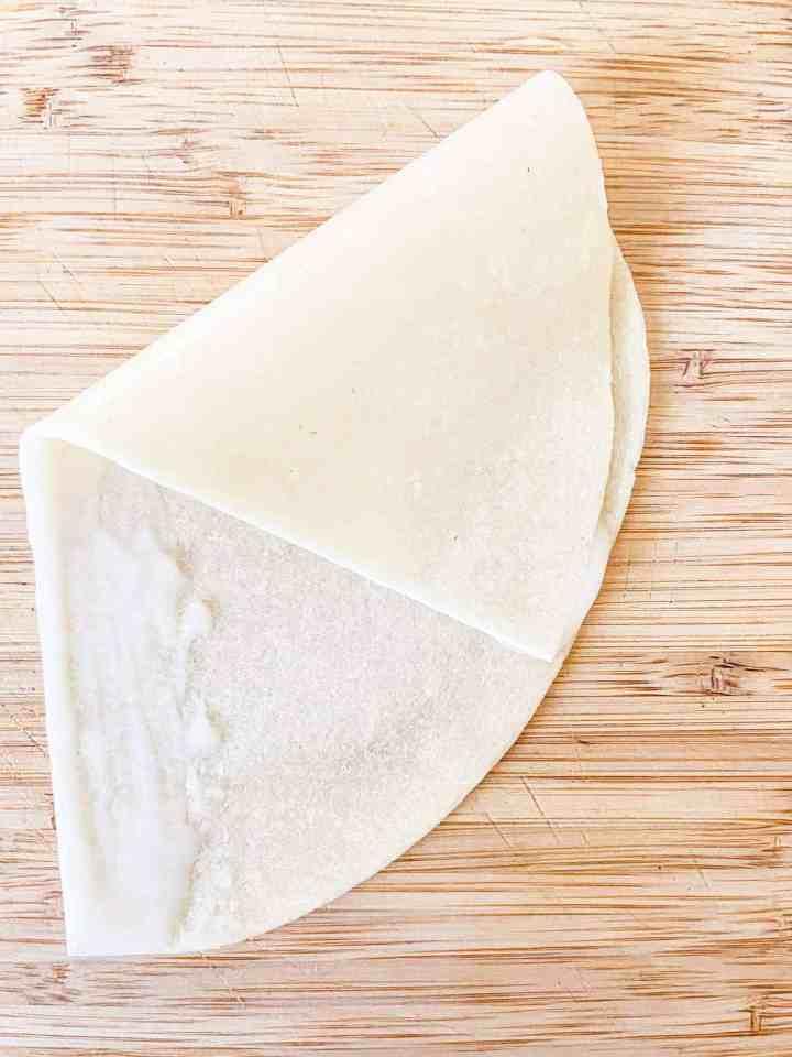 How to wrap samosa?