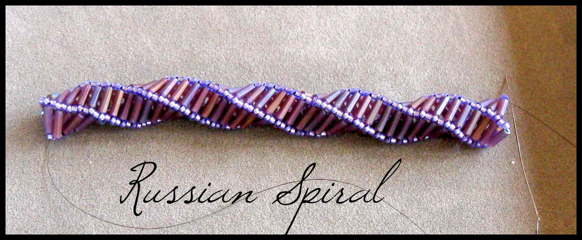 Beadweaving Russian Spiral Stitch