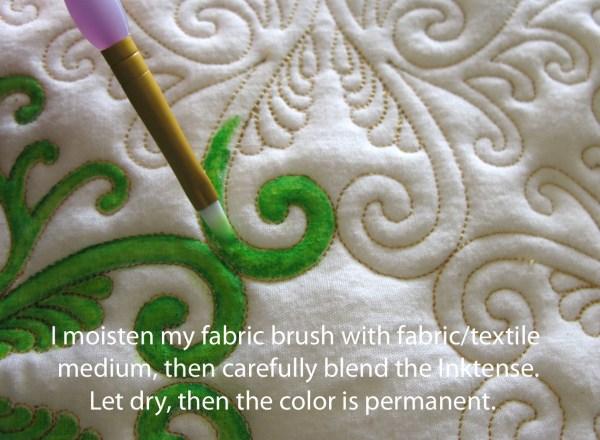 Inktense Fabric Paint Tutorial Carla Barrett