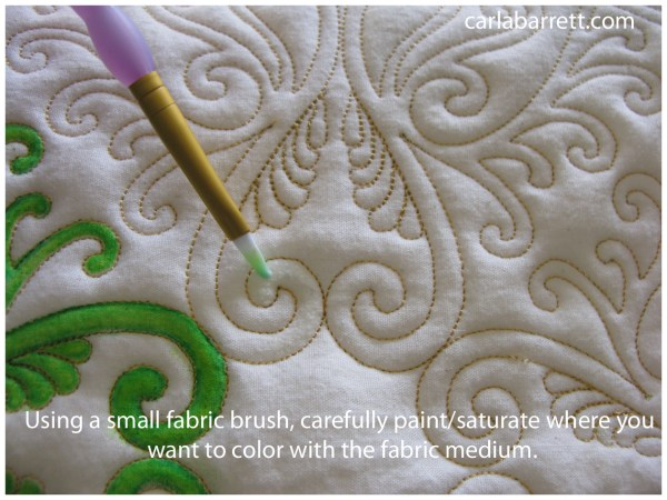 Inktense Fabric Paint Tutorial