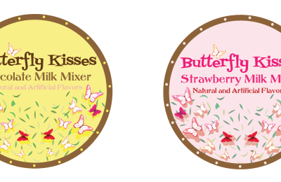 Butterfly Kisses Hang Tags