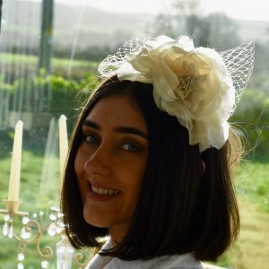 Jenna bridal headpiece