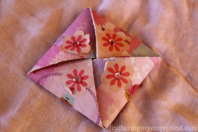 Origami valentine --Valentines Ideas: Love Notes Through The Years