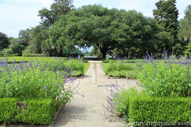 Octagonal Garden --Exploring The Enchanting Gardens Of Middleton Place